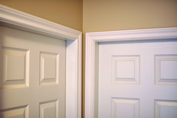 August 2014 mybatsonhome for Gloss paint for trim
